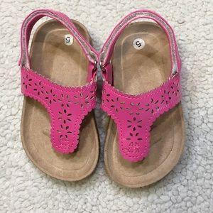 Dolgen toddler girl's sandals